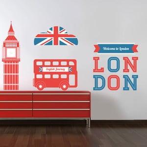 Samolepka na stěnu Dominanty Londýna, 60x90 cm