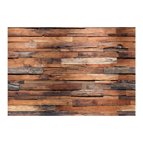 Velkoformátová tapeta Dřevěná zeď, 366x254 cm