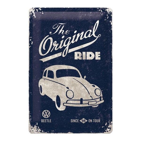 Sada 2 ks plechových cedulí Original Ride, 20x30 cm