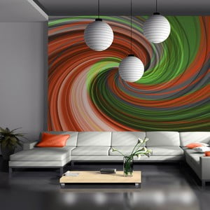 Velkoformátová tapeta Artgeist Swirling Rainbow, 300x231cm