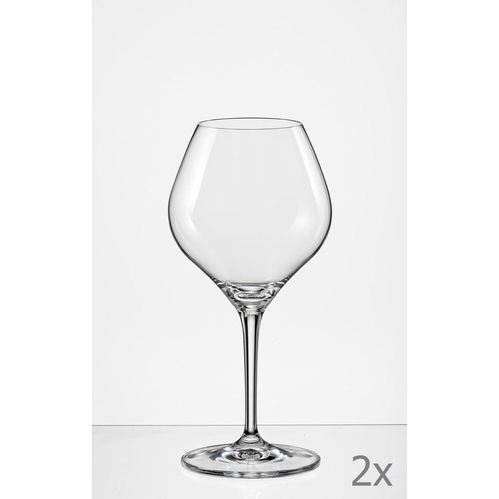 Sada 2 sklenic na víno Crystalex Amoroso, 280 ml