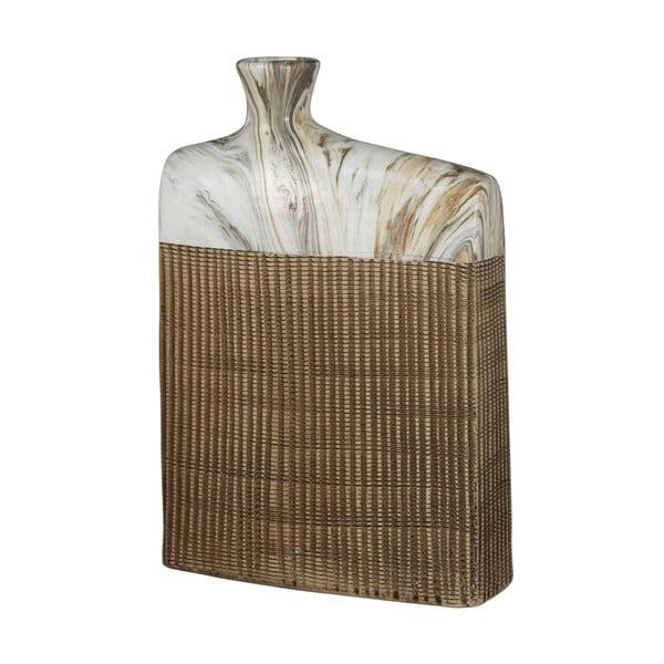 Váza CIMC Marble Brown, 30 cm