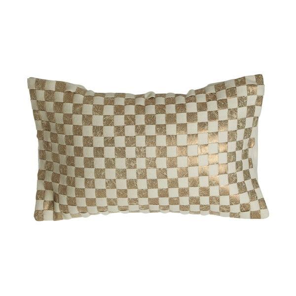 Polštář Checkerboard Design, 34x60 cm