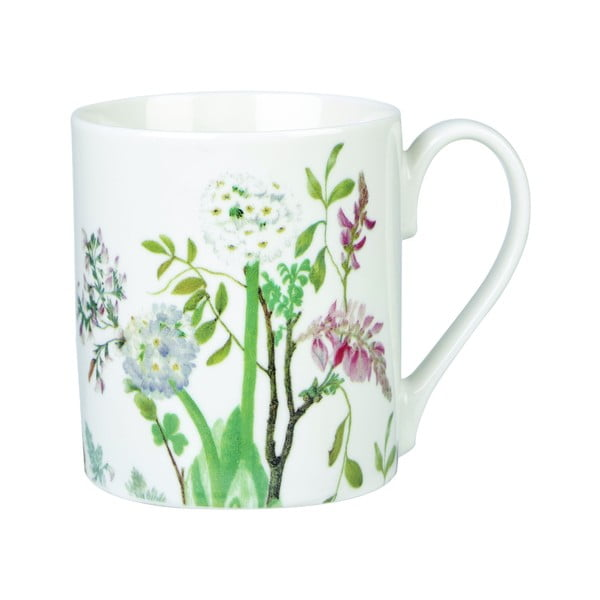 Set 4 căni din porțelan Churchill China Himalyan Flowers, 250 ml