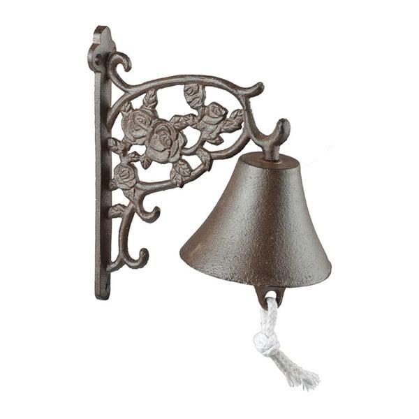 Litinový zvonek Esschert Design Roses