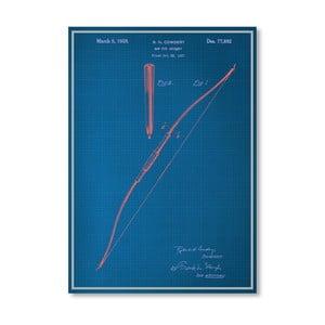 Plakát Bow, 30x42 cm