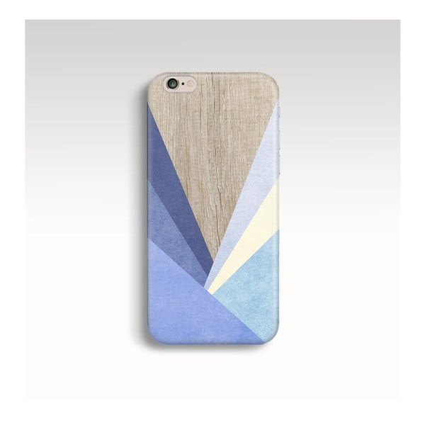 Obal na telefon Wood Triangles IV pro iPhone 5/5S