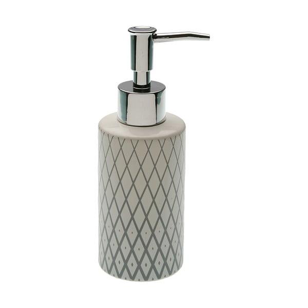 Szary dozownik do mydła z pompką VERSA Diamond