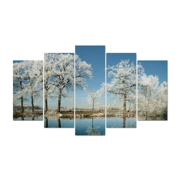 5dílný obraz Meadows, 60x100 cm