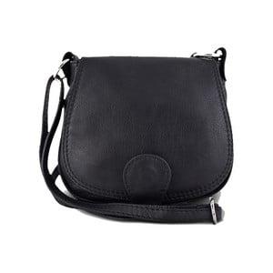 Černá kabelka z pravé kůže GIANRO' Achieve