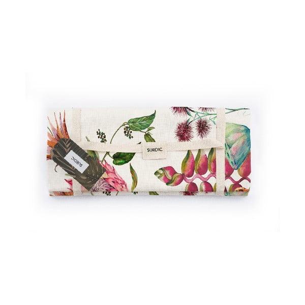 Manta Picnic White Flores Salvajes piknik pléd, 140 x 170 cm - Surdic