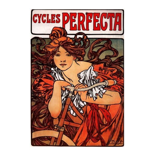 Obraz Cycles Perfecta od Alfonse Muchy, 60x90 cm