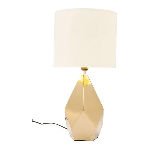 Diamond aranyszínű asztali lámpa - Kare Design