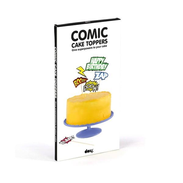 Dortové vlaječky Comic