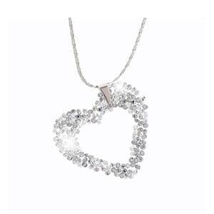 Náhrdelník s krystaly Swarovski® Yasmine Heart