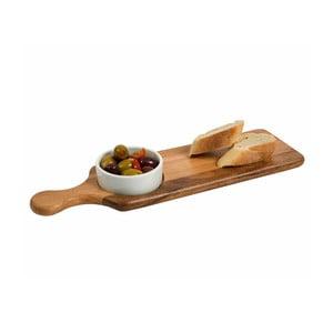 Servírovací prkénko s miskou T&G Woodware Serving Board