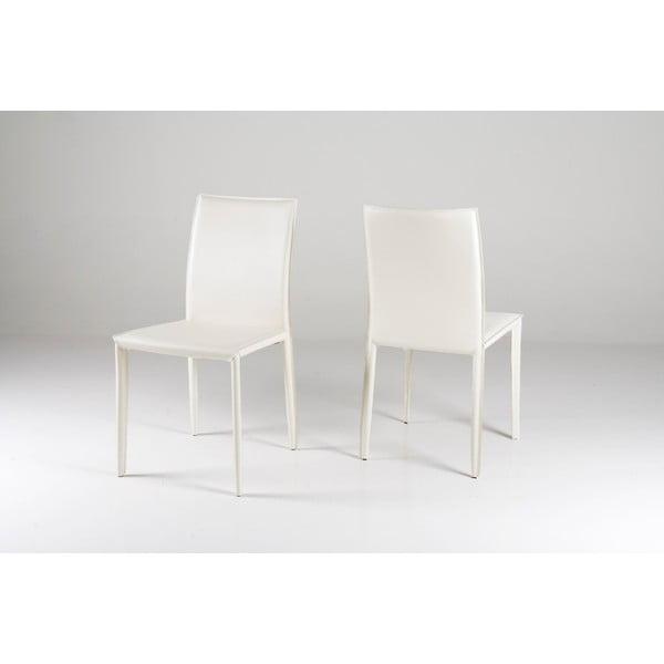 Jíldení židle Andrew, bílá