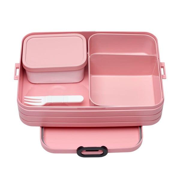Nordic rózsaszín nagyméretű ételhordó doboz - Rosti Mepal