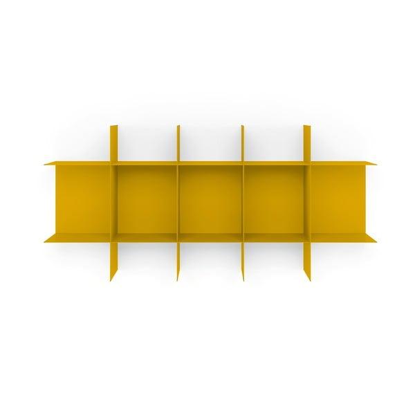 Žlutá nástěnná police MEME Design Innesto