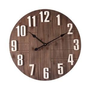 Nástěnné hodiny ze dřeva Last Deco Kenya, ø 60 cm