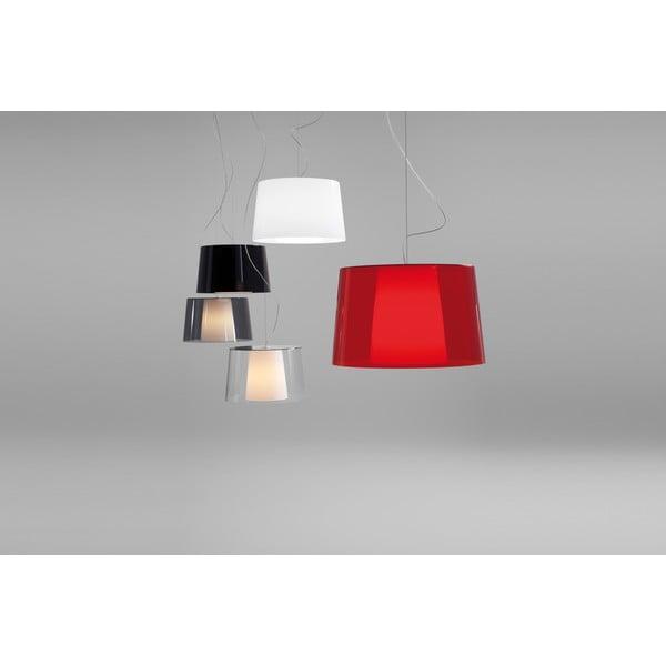 Červené závěsné svítidlo Pedrali L001S/BA