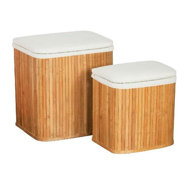 Sada 2 košů na prádlo z bambusu Premier Housewares