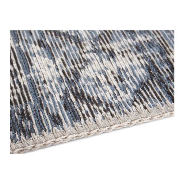 Modrý koberec Elle Decor Pleasure Denain, 80 x 150 cm