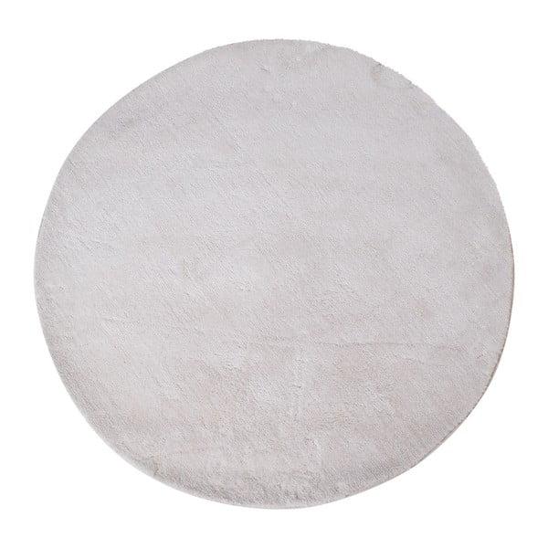 Bílý kulatý koberec House Nordic Florida, ø120cm