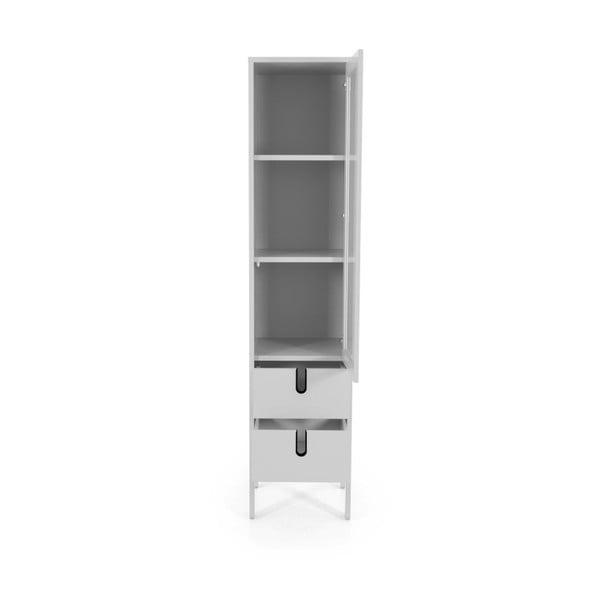 Biała witryna Tenzo Uno, szer. 40 cm