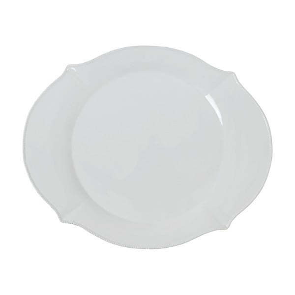 Talíř Athezza olivia White, 42.8 cm