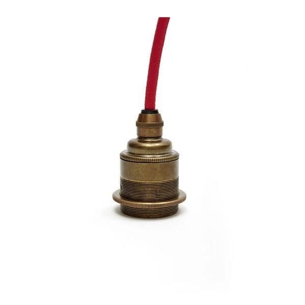 Závěsný kabel Messingleuchte Antik/Red