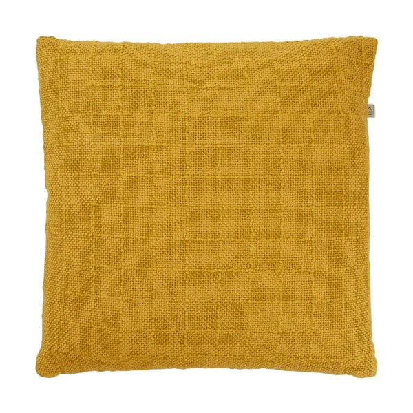 Polštář Waele Mustard, 45x45 cm