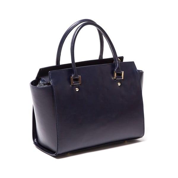 Kožená kabelka Isabella Rhea 3017 Blue