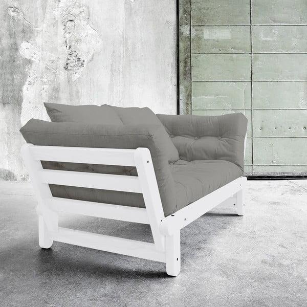 Rozkládací pohovka Karup Beat White/Granite Grey