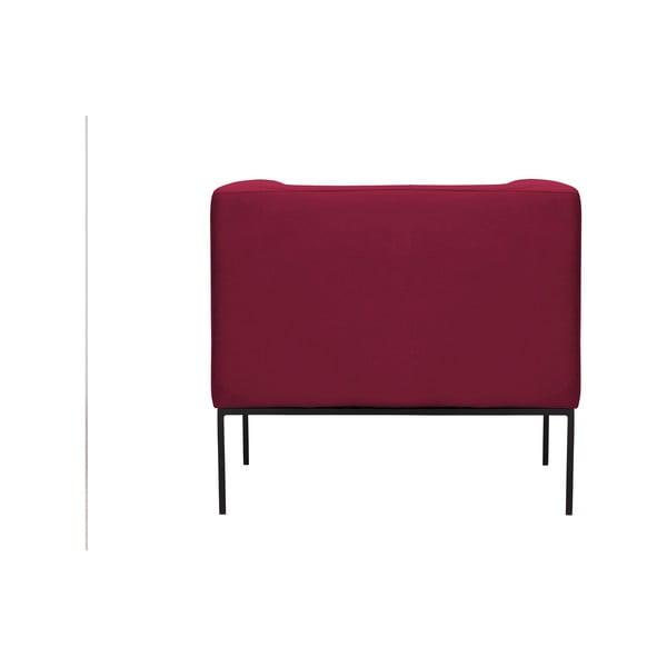 Červené křeslo Windsor & Co Sofas Neptune