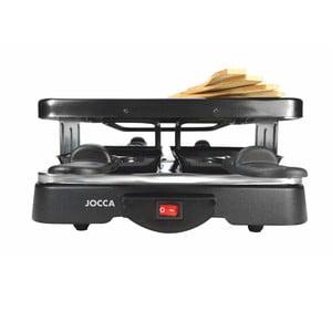 Černý rakletovač s nepřilnavým povrchem JOCCA Raclette