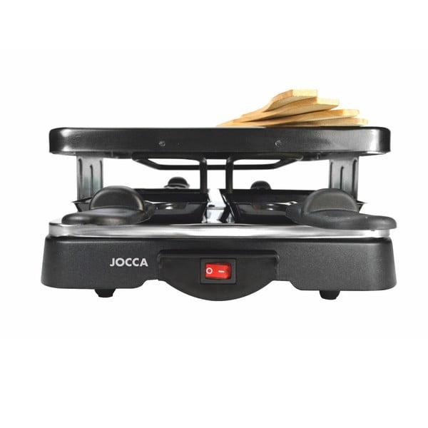 Czarne urządzenie do raclette JOCCA Raclette