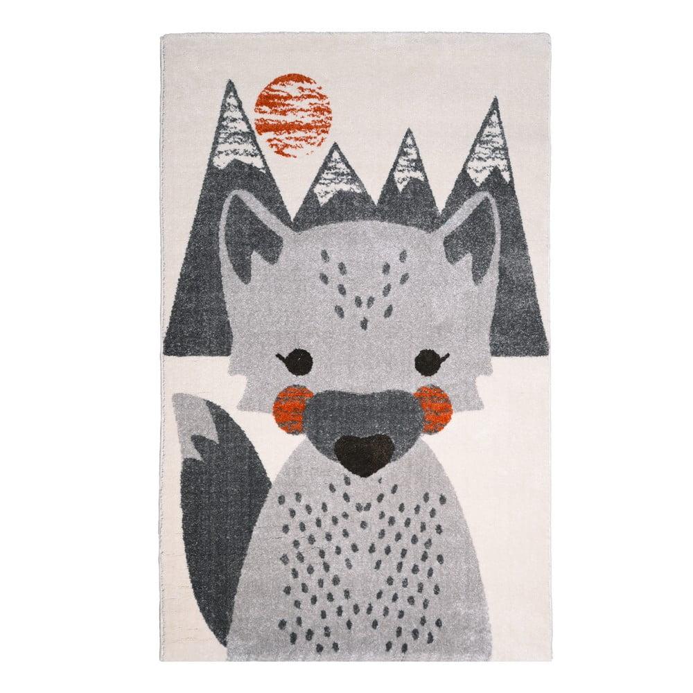 Dětský koberec Nattiot Mr. Fox, 100 x 150 cm