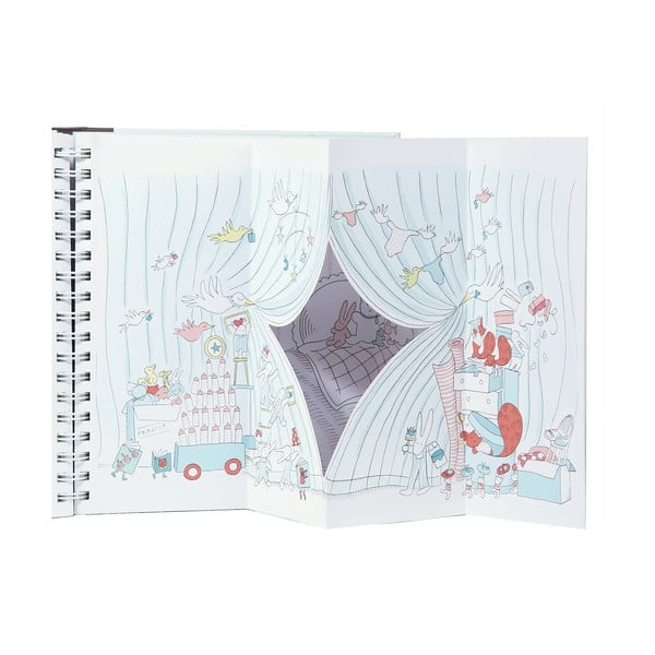 Kniha pro miminko Chronicle Books Le Petit Baby Book