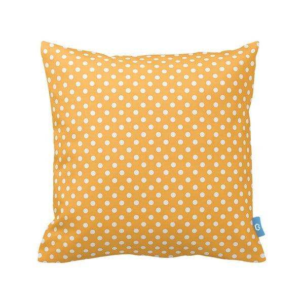 Polštář Yellow Dots, 43x43 cm