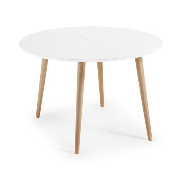 Rozkladací jedálenský stôl La Forma Oakland, 120 x 120 cm
