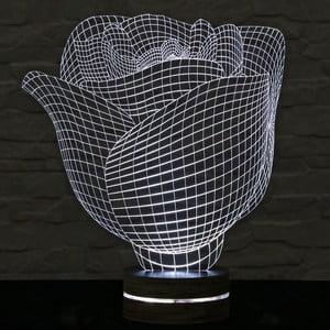 3D stolní lampa Rose