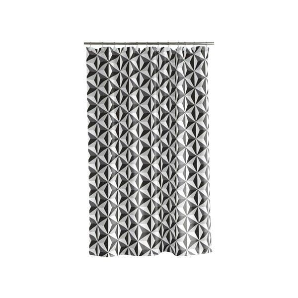 Sprchový závěs Dimension black, 180x200 cm