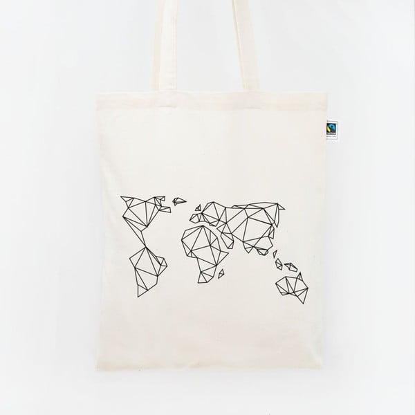 Plátěná taška Geometrische Erde