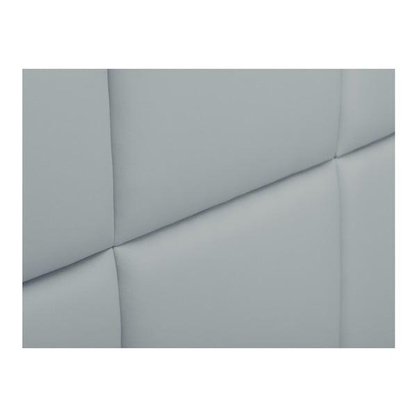 Světle šedé čalouněné čelo postele THE CLASSIC LIVING Aude, 160x120cm
