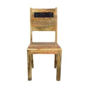 Židle z masivního mangového dřeva Massive Home Bella