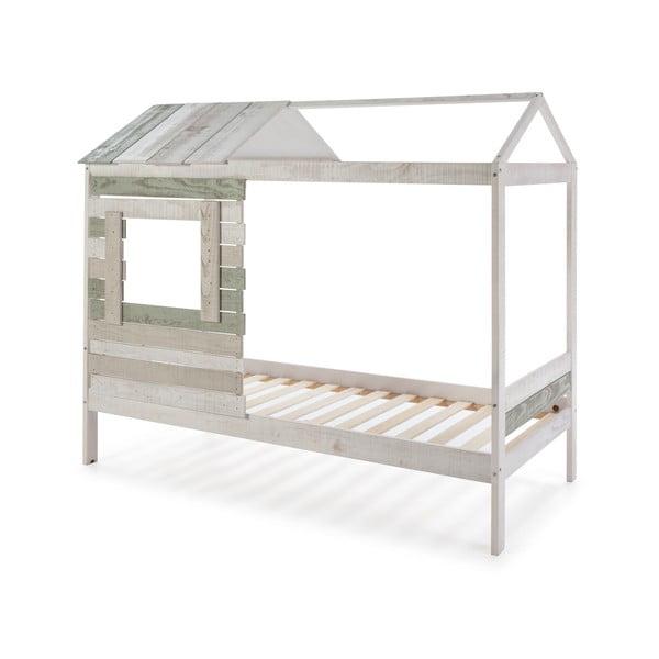 Dětská postel s konstrukcí z borovicového dřeva Marckeric Perle,90x190cm