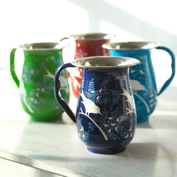 Džbán Eva Hand Painted Jug, tmavě modrý