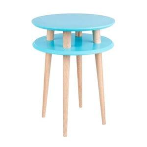 Măsuță  de cafea Ragaba UFO Ø 45 cm, albastru