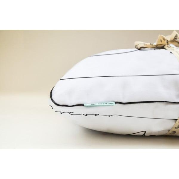 Polštář Pillow Live Laugh Love, 45x45 cm